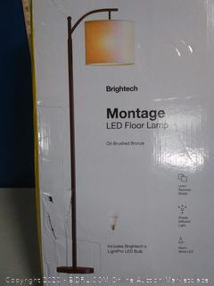 Brightech Montage LED Floor Lamp(Factory Sealed)COME PREVIEW!!!!! (online $69)