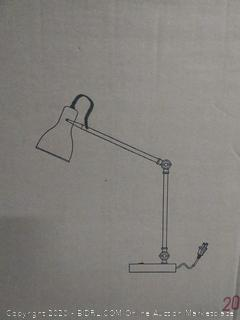 table lamp brass and paint(Factory Sealed)COME PREVIEW!!!!!