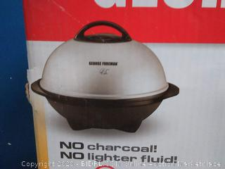 George Foreman indoor and outdoor grill(Factory Sealed/Box Damage) COME PREVIEW!!!!!