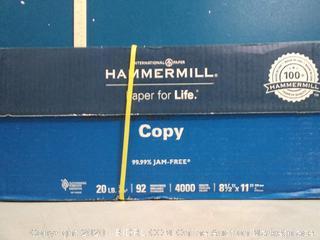 hammermill printer paper 8.5 in x 11 inch