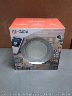 "Lithonia Lighting 6"" LED Wireless Bluetooth Speaker & Downlight"