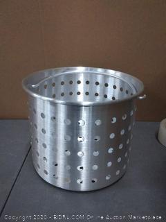 Winco - Winware 20 qt Aluminum Steamer Basket 812944003296