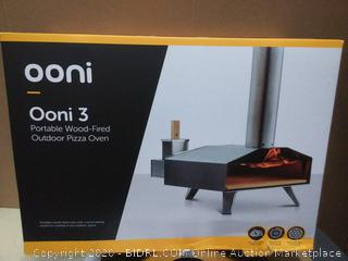 Omni 3 Portable Wood-Fired outdoor pizza oven