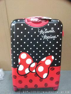 """American Tourister 28"""", Minnie Mouse Red Bow"""