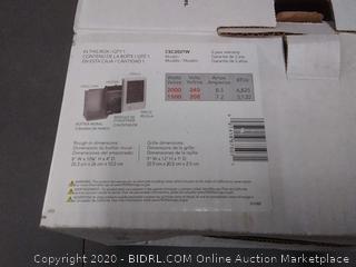 Cadet 67507 2000 Watt Wall Fan Heater (027418675071) [2]