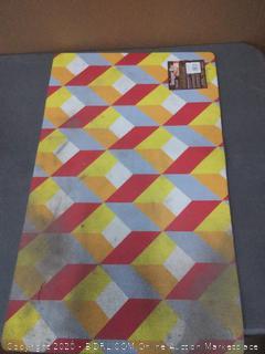 toland Home and Garden designer mat(needs wash)