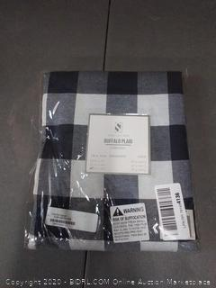 Buffalo plaid collection navy blue tablecloth plaid 70 in x 120 in