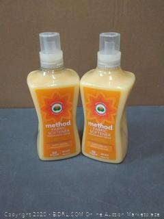 Method Fabric Softener Ginger Mango 45 Loads -- 53.5 fl oz | King x2