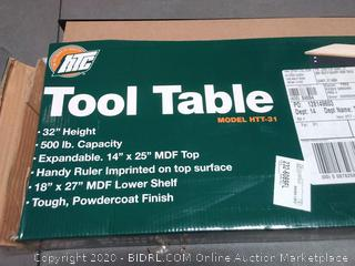 HTC tool table