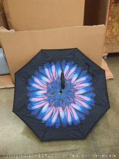 abccanopy inverted umbrella double layer reverse windproof Teflon repellent umbrella