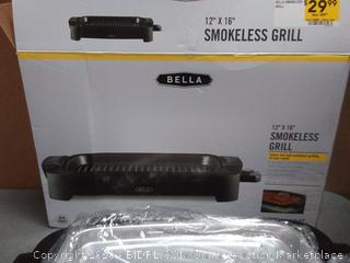 Bella 14 x 16 in smokeless Grill