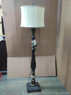 Barada 61in bronze floor lamp