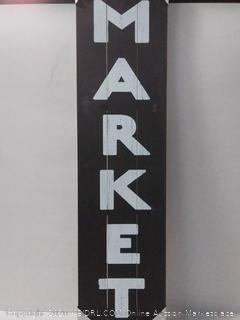 I/O 12-IN x 48-IN Market Wood Art (online $59)