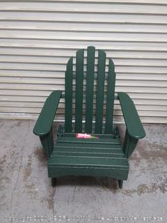 "POLYWOOD AD5030GR Classic Folding Adirondack Chair, 38.5"" x 31.25"" x 33.5"", Green (online $239)"