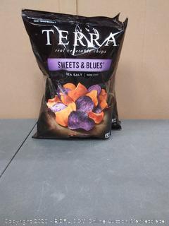 Terra real vegetable chips sweet and blues sea salt (3 pack)