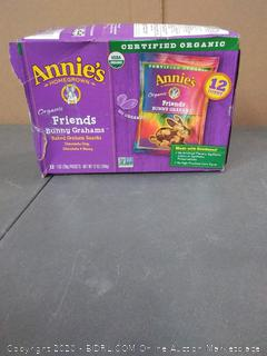 Annie's organic bunny Grahams baked Graham snacks chocolate chip and chocolate honey 12 packets