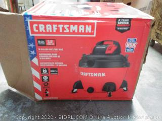 Craftsman 16 gallon wet and dry shop vac(powers on)