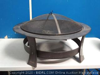 outdoor fire pit(previously owned/dented)