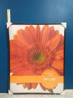horizontal or vertical 24in X 30in picture frame