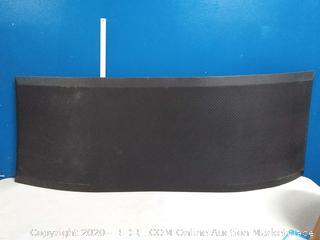 long black anti-fatigue mat