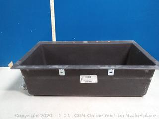 Franke composite granite large bowl kitchen sink (online $299)