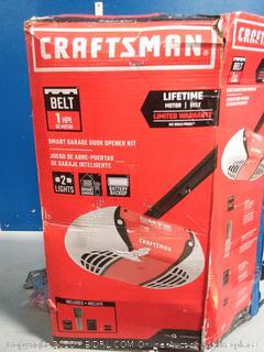 Craftsman smart garage door opener kit(previously owned/powers on) online $239