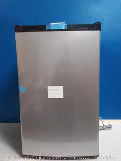 Frigidaire mini fridge(powers on/top scuffed) online $189