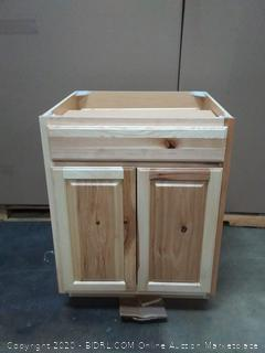 masterbrand wooden cabine (bottom left corner broken)
