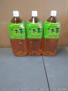 Oi ocha unsweetened green tea 2liter (3 pack)
