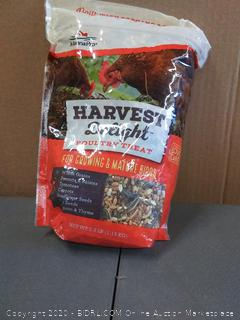 Harvest Delight poultry treat for growing immature Birds 2.5 lb bag