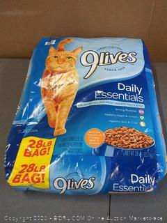 Nine Lives daily Essentials 28 lb bag cat food