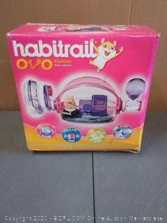 habit Trail home pink Edition gerbil or hamster habitat