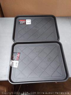 stalwart utility trays 2-pack