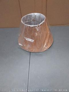 light brown lamp shade