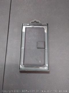 Moto folio case for iPhone 6 6s grey black