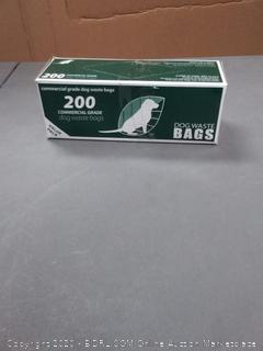 200 commercial grade dog waste bags value pack
