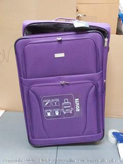 rolite 30 inch purple roll bag 360 rotation $169 value