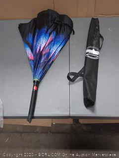 inverted umbrella flower pattern (damaged handle