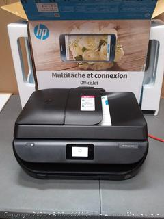 HP OfficeJet 5255 All-in-One Wireless Color Printer, M2U75A (powers on)