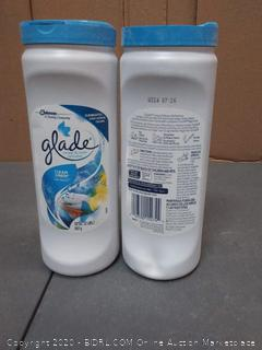 Glade carpet and room refresher 32oz clean linen scent