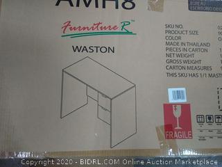 Furniture R Walston Oak color computer desk
