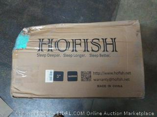 hofish 3 inch queen mattress topper