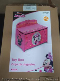 Disney Junior Minnie toy box