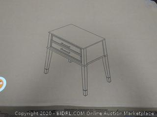 Dorial accent table White