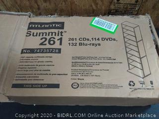 Atlantic Summit 261 114 DVDs 132 Blu-ray Shelf