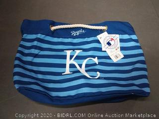 Kansas City Royals Nautical Stripe Tote Bag