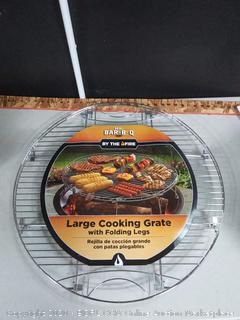 mr. Bar-B-Q large cooking grate with folding legs