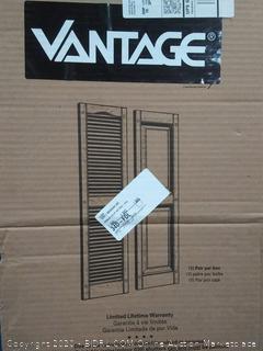 Vantage shutters