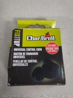 Char-Broil Universal Control Knob for gas grills with D-shape valve