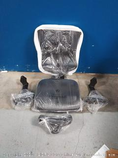 computer chair black mesh ( missing base and wheels, use for parts)
